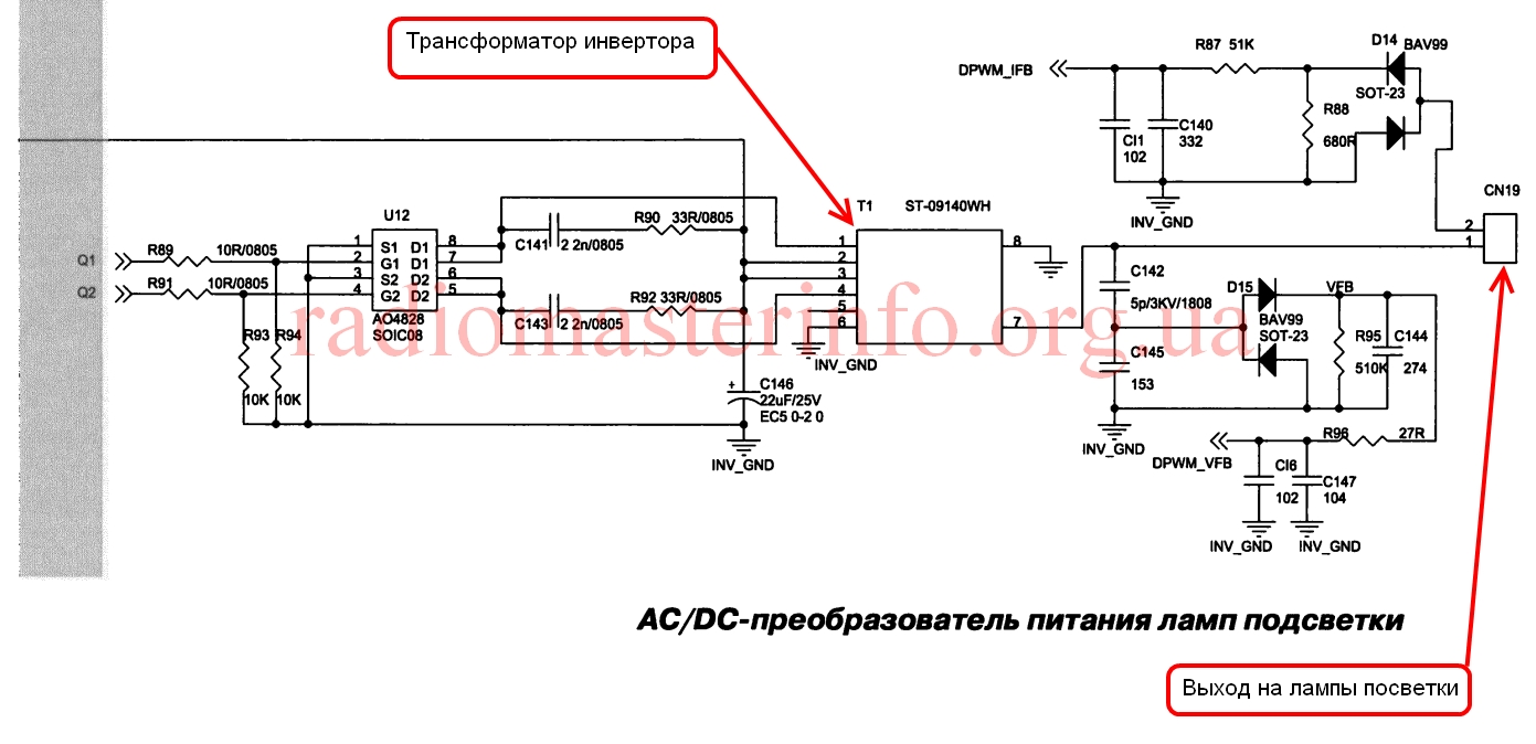 схема телевизора jinlipu 3728