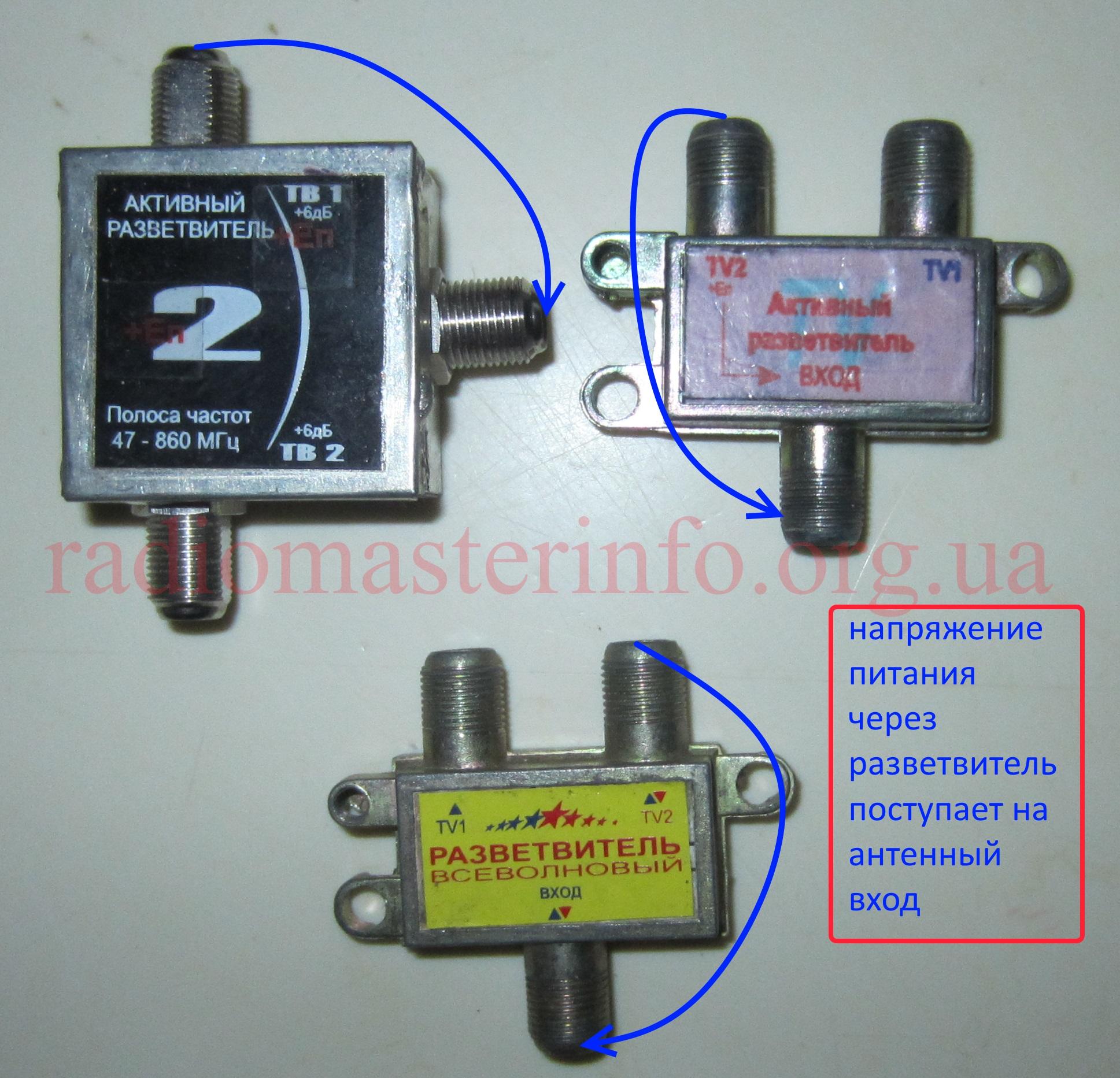 Антенный разветвитель Eurosky 1/3: цена, купить тв ...