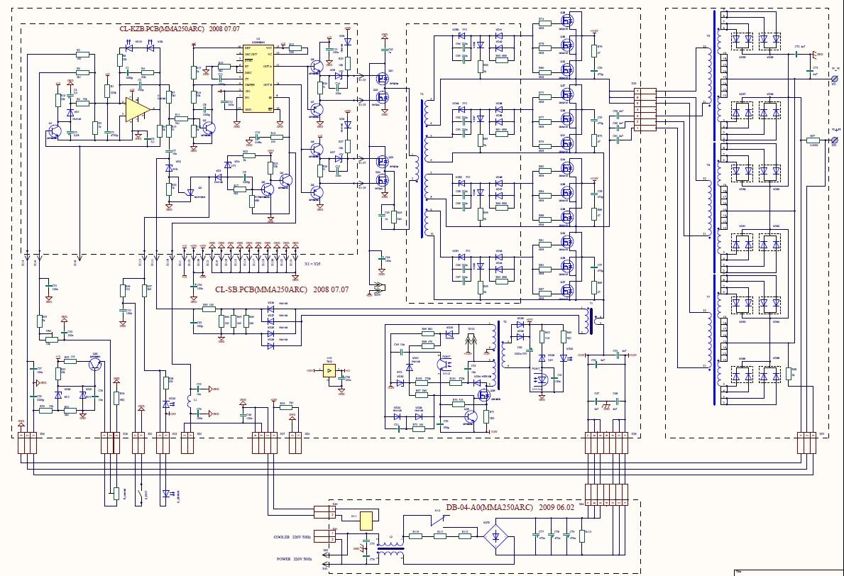 Схема инвертора видео